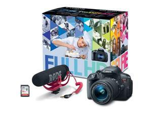 Canon EOS 70D DSLR Camera with 18-135mm Lens Video Creator