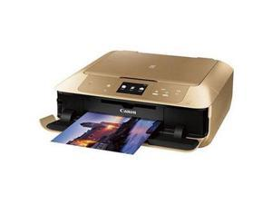 Canon PIXMA MG7720 Wireless Inkjet Photo All-in-One Printer - Gold #0596C062