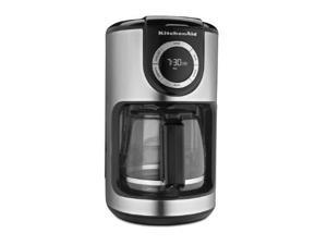 KitchenAid KCM1202OB 12-Cup Glass Carafe Coffe Maker - Onyx Black