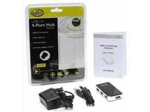 4 PORT USB 2.0 ALUMINUM HUB