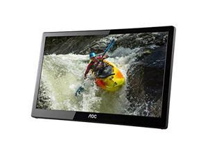AOC e1659Fwux- Pro 16-Inch Class, Full HD 1920x1080 Res, 300 cd/m2 Brightness, USB 3.0-Powered, Portable LED Monitor