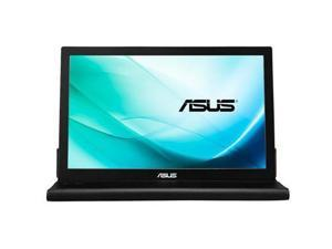 Asus MB169C+ Black 15.6'' 16:9 Widescreen LED Backlight Full HD 1920 x 1080 Portable USB-powered IPS Portable Monitor 220 cd/m2 700:1