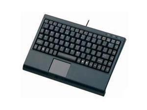 Solidtek KB-3910BL Mini Keyboard W Touchpad Blk
