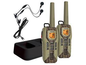 Uniden GMR5088-2CKHS Camo Submersible Two Way Radio with Charger and Headset, Camo