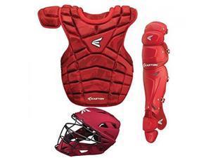M10 Adult Catcher's Set Red