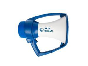 KESTREL BLUE OCEAN MEGAPHONE WHITE & BLUE WATERPROOF