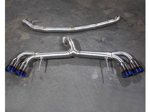 Agency Power Titanium Exhaust System 90mm Piping 120mm Tips Nissan R35 GT-R 09-14