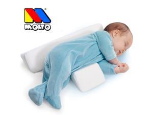 2015 Top Quality Molto Newborn Baby Sleep Positioner Infant Anti Roll Cushion Two Wedge Pillow Gifts for Infant Baby Pilllow
