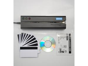 MSR605X Magnetic Stripe Card Reader Writer Encoder Credit Mag Magstripe MSR206 Updated from MSR605, w/ software for Mac and Windows OS