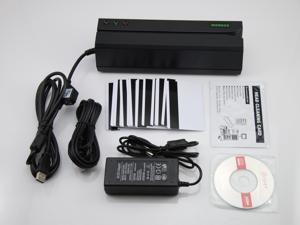 MSR605 Magnetic Card Reader Writer Encoder Stripe Swipe Credit Magstripe Comp.MSR206
