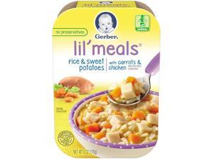 Gerber Lil' Meals Rice & Sweet Potatoes with Carrots & Chicken, 6 ounces