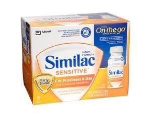 Similac Sensitive Ready to Feed Formula 6 Pack - 8 Ounce
