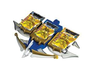 Power Rangers Deluxe Battle Gear - Blue/Black/Yellow