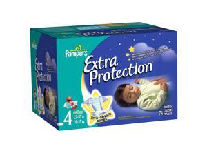 Pampers Extra Protection Size 4 Diapers Super Pack - 74 Count