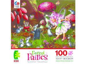 Forest Fairies Puzzle - Fairy, Mice & Mole