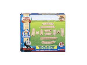 Wooden Railway Straight & Curve Expansion Pack