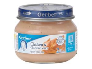 Gerber Foods 2nd Stage Chicken Baby Food - 2.5 Ounce