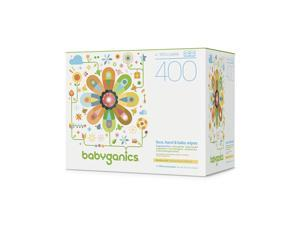 Babyganics Face, Hand & Baby Wipes, Fragrance Free, 400 Count
