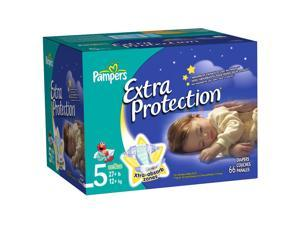 Pampers Extra Protection Size 5 Diapers Super Pack - 66 Count