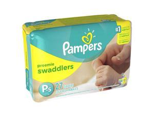 Pampers Swaddlers Preemie Diapers Jumbo Pack - 27 Count