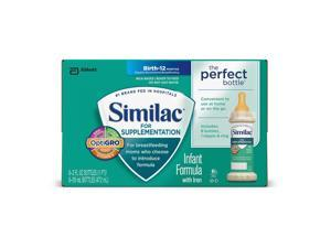 Similac Supplementation Bottles 8-Pack - 2 Ounce