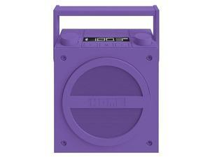 iHome Bluetooth Wireless Rechargeable Boombox - Purple #zCL