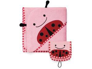 Skip Hop Zoo Towel and Mitt Set - Ladybug