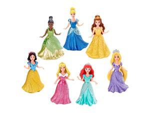 Disney Princess Little Kingdom Doll Magiclip Collection - 7 Pack