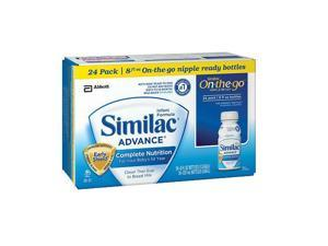 Similac Advance Ready to Feed Formula - 8 Ounce - 24-Pack