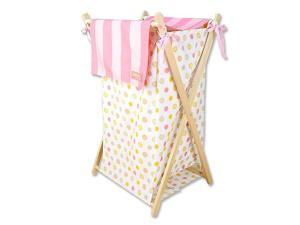 Trend Lab Dr. Seuss Oh, the Places You'll Go! Hamper - Pink