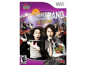 Naked Brothers Band: Rock University with mic for Nintendo Wii