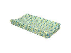 Trend Lab Dr. Seuss Blue Oh, the Places You'll Go! Changing Pad Cover