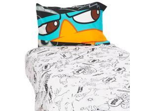 Disney Phineas and Ferb Full-Size Sheet Set #zMC