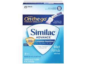 Similac Advance Early Shield Baby Powder Formula - 16 Pack - 0.61 Ounce Each