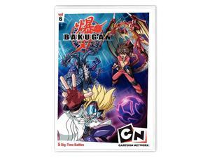 Bakugan 6: Time For Battle DVD