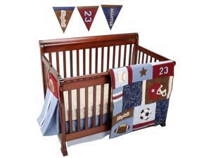 NoJo Play Ball 9 Piece Crib Bedding Set
