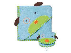 Skip Hop Zoo Towel/Mitt Set - Dog