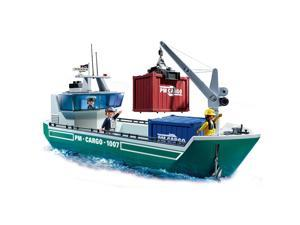 Playmobil Cargo Ship With Loading Crane #zCL