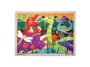 Melissa & Doug Jigsaw Puzzle - Prehistoric Sunset