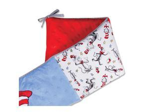 Trend Lab Dr. Seuss Cat in the Hat Crib Bumpers - Black/White