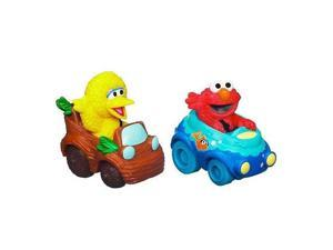 Sesame Street 2-Pack Vehicles - Elmo and Big Bird