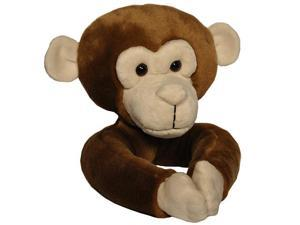 Curtain Critters Tieback Curtain - Set of 2 - Plush Chocolate Brown Monkey