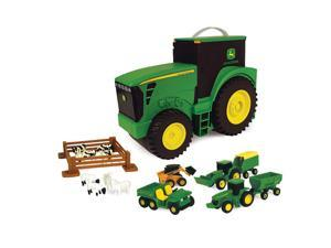 JDEERE FARM TOY CARRYING SET RC2 BRANDS, INC Farm Toys/Collectibles 35747