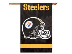 The Party Animal NFL Indoor/Outdoor 2-Sided Banner/Fla - Pittsburgh Steelers