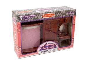 Melissa & Doug Dollhouse Bedroom Furniture