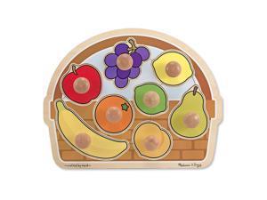 Melissa & Doug Fruit Basket Puzzle - Jumbo Knob