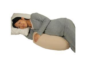 Leachco Belly Bumper Compact Side Sleeper Pillow - Khaki