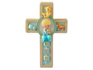 Jesus Loves Me Boy Praying Wall Cross