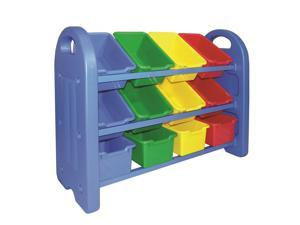Early Childhood Resources 12 Bin Storage Organizer