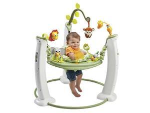 ExerSaucer Jump and Learn Jumper Safari Friends Activity Center